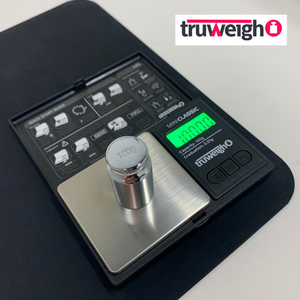 How to Calibrate Your Digital Scale - The Truweigh Blog - Mini Classic Electronic Scale 100g Calibration Weight
