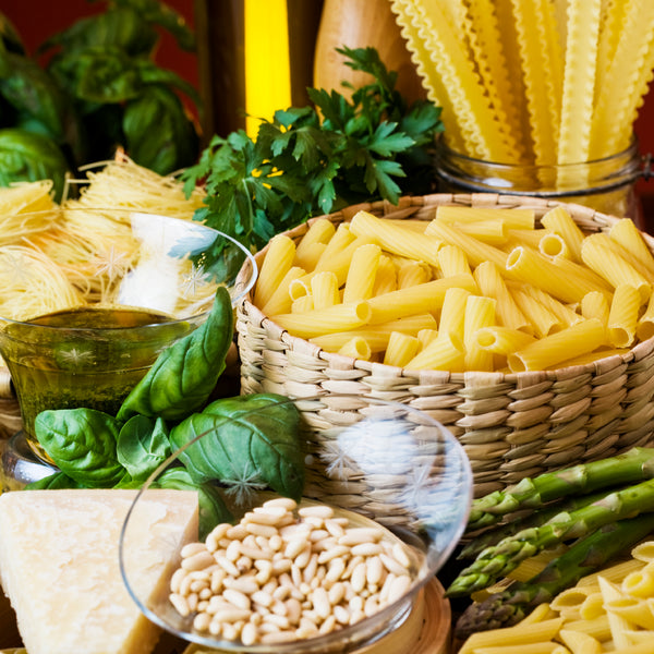 Does Measuring Your Food Help With Weight-Loss? - The Truweigh Blog - Portion Pasta Nuts Vegetables Dry Grains