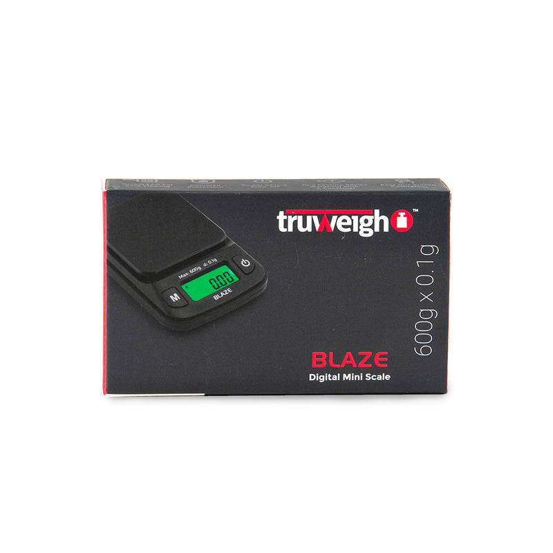 Truweigh Blaze - 600g x 0.1g - Black