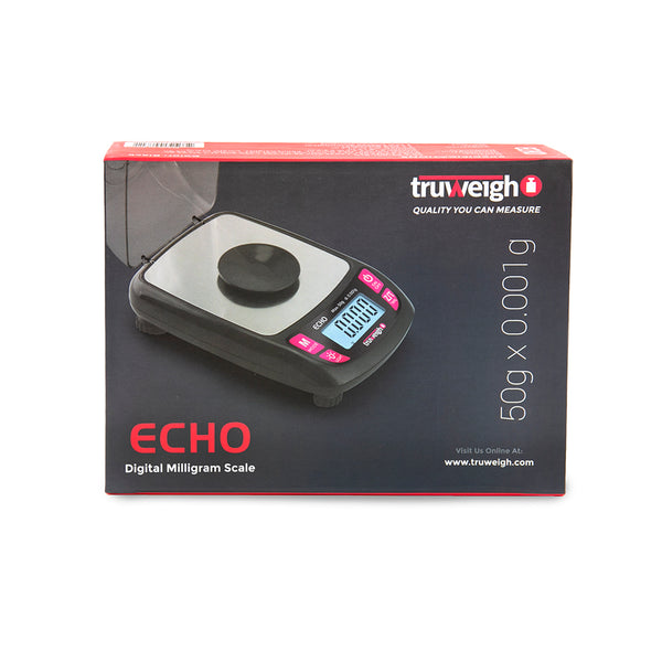 Truweigh Echo Milligram Scale - 50g x 0.001g - Black