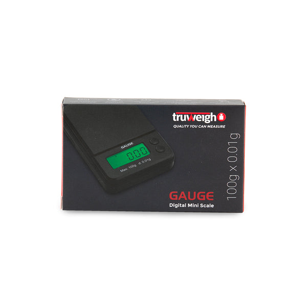 Truweigh Gauge Scale - 100g x 0.01g - Black
