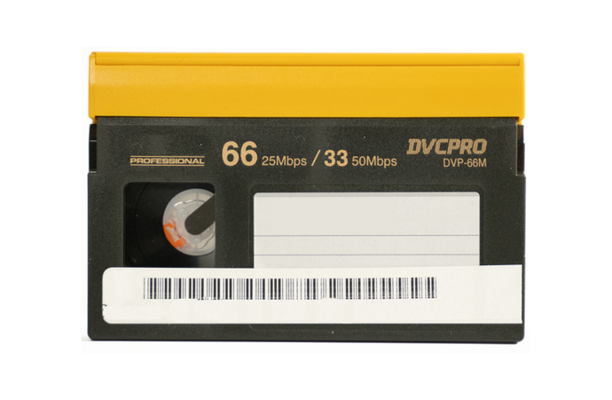 DVCPro (SD) Format - Small Tape