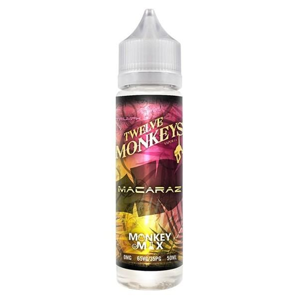 Twelve Monkeys - Macaraz 50ml Shortfill-50ml Shortfill-Vape Lords Kingston