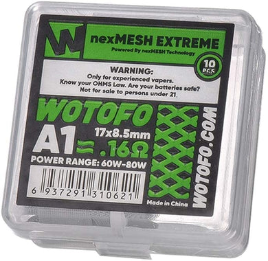 Wotofo nexMESH Strips - 10 Pieces-Coils-Vape Lords Kingston
