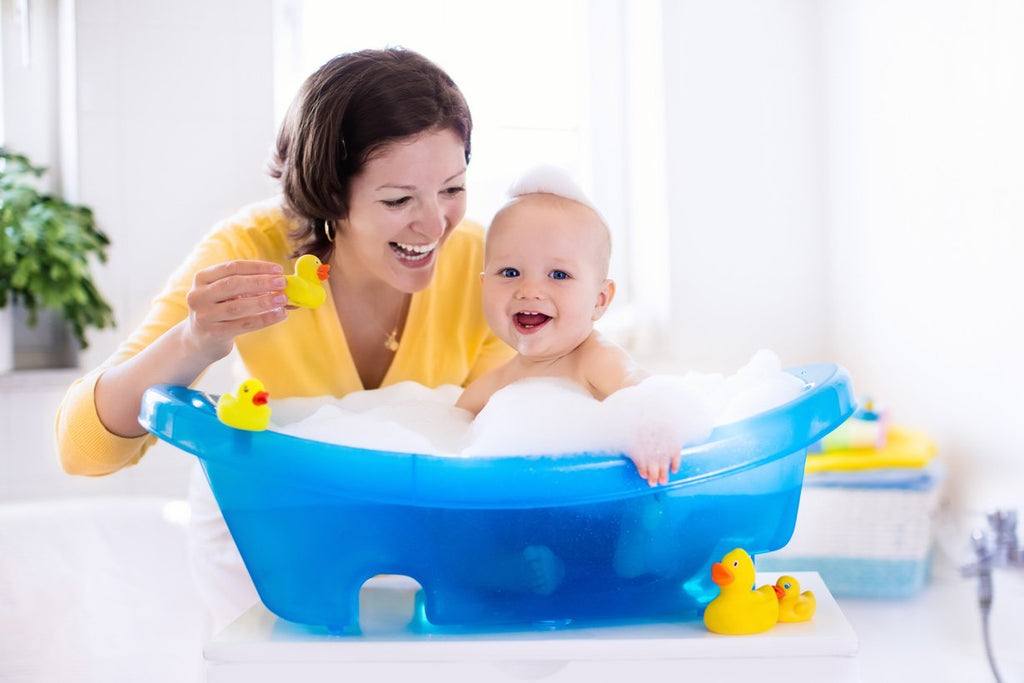 Bathing Essentials for a Bathing Baby