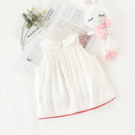 Baby Toddler Girl Limited Edition Sleeveless White Dress