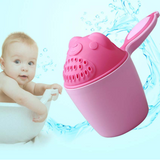 Protect Baby Eyes Ears with Shower Shampoo Cup