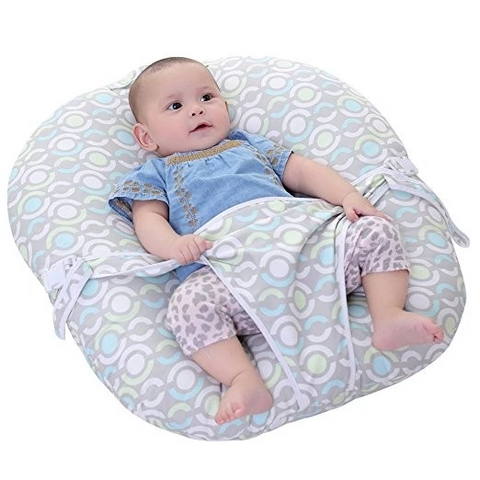 Waterproof Sleeping Seat Lounger Pillow Prevent baby head and body shock