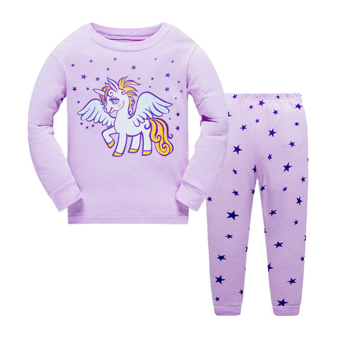 100% Cottons Kids Unicorn Pajama Set
