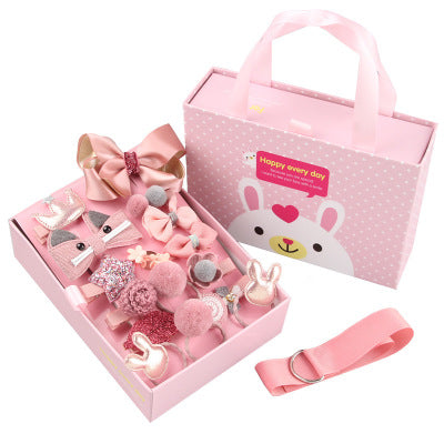 Style Hair with Variety Hair Accessories Gift Box