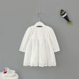 Limited Edition Flower and Lace Girls Chiffon Dress