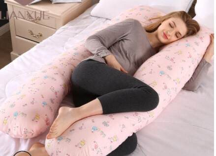 Organic Cotton Pregnancy Maternity Pillow Side Sleeper