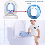 Potty Training Seat for Toddlers with 3-Level Protection System