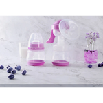 Manual Breast Pump With Feeding Bottle