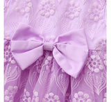 Infant & Toddler Girls Limited Edition Bow Lace Party Dress