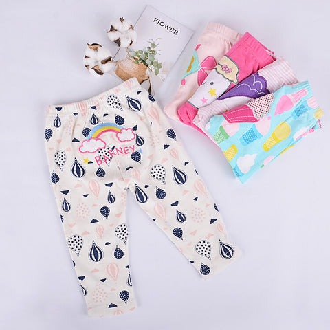 5 Piece Infant & Toddlers Super Soft Organic Cotton Pants
