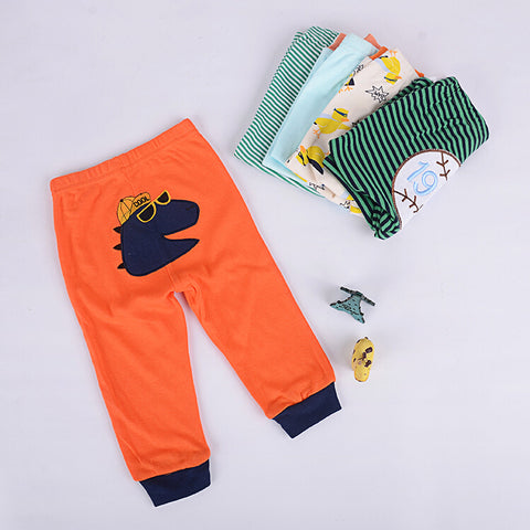 5 Piece Infant & Toddlers Boys Super Soft Organic Cotton Pants