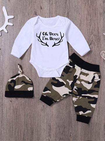 Romper Pants Baby Set