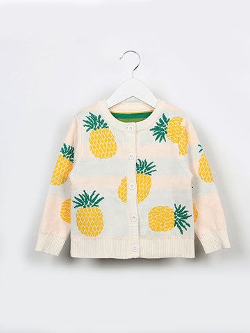 Dress up with Cheerful Pineapple Cardigan