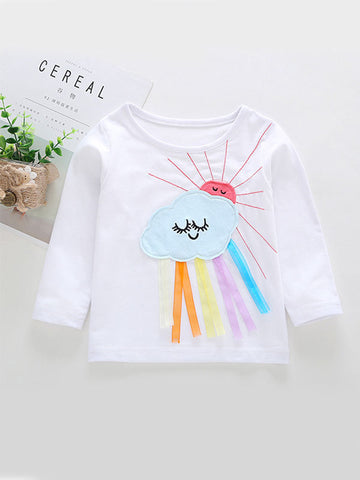 Little Baby Girl Long Sleeves T-shirt