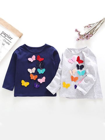 Baby Toddler Butterfly T-shirt