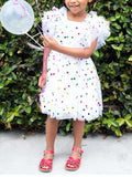 Girls Polka Dot Princess Dress