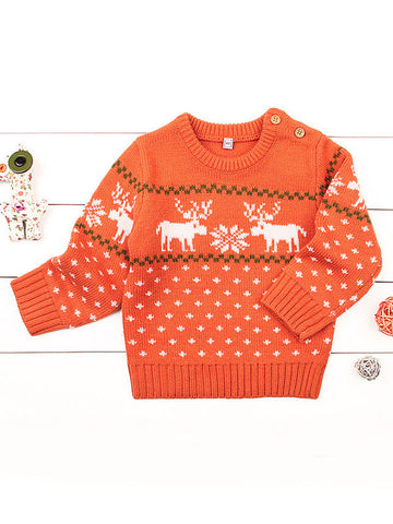 Baby Boy Christmas Knit Sweater
