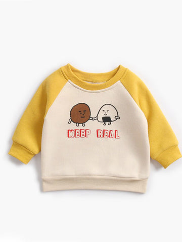 Toddler Boys Fleece-lined Pullover