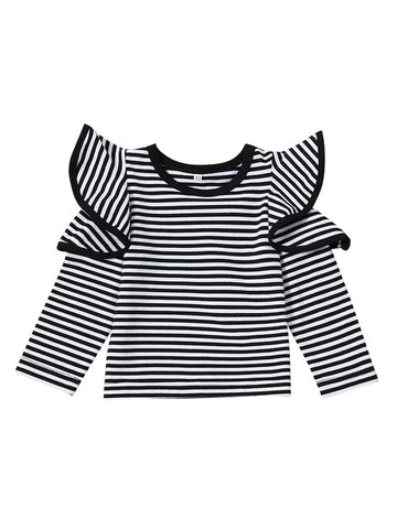Infant Toddler Girl Tee Shirt Top for Spring Autumn
