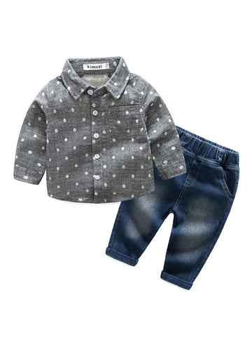 Baby Boys Shirt & Pants Set