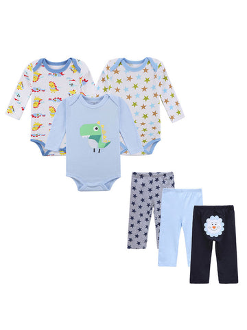Unisex Newborn Infant Clothing Set