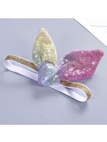 Girls Sequin Bowknot Headband