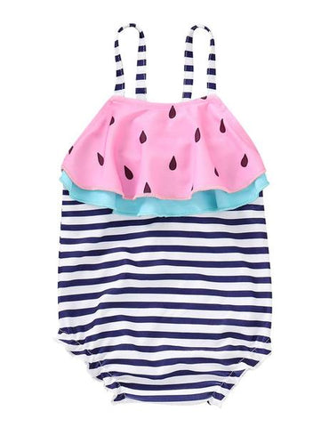 Baby Toddler Girl One Piece Swim Suit