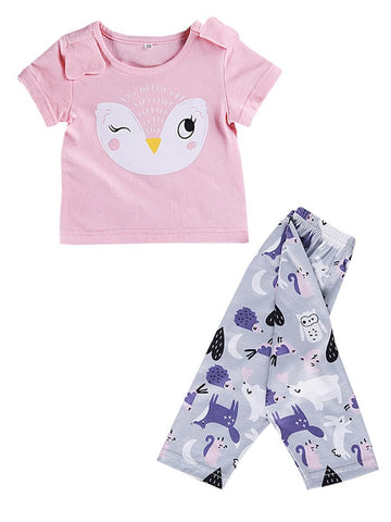 Baby Girl Owl Pattern