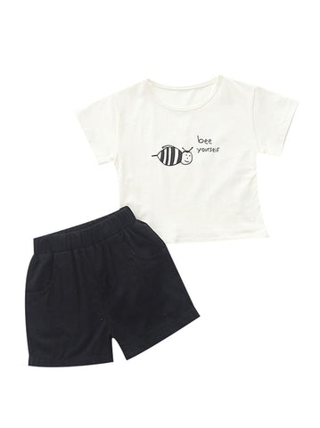 Baby Bee T-shirt With Shorts