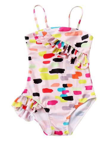 Big Girl Multi-color Bathing Suit