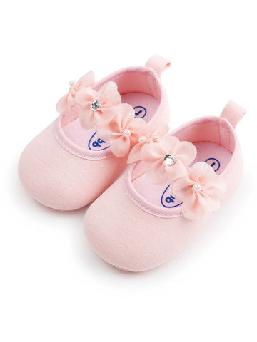 Baby Girl Pink Pre-walker Shoes