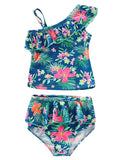 Baby Little Girl Floral Swimsuit