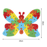 Toddler Learning Education Wooden Puzzle Toys for age 4-8 Years