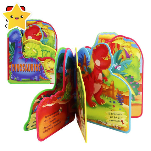 Educational Baby Dinosaur Book for Toddlers