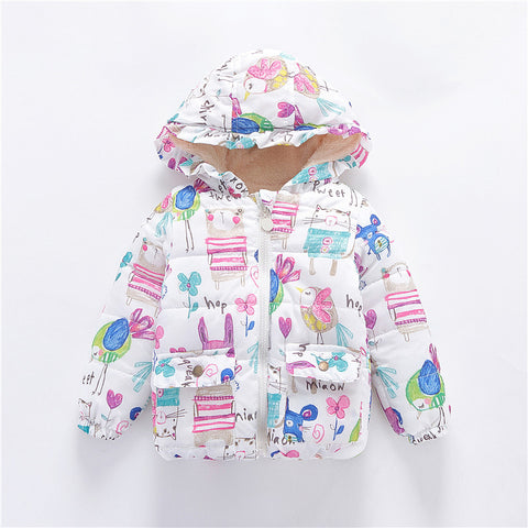 Infant Toddlers Winter Windproof Jacket