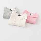3-Color Pack- All Season Little Girls Soft Cardigan