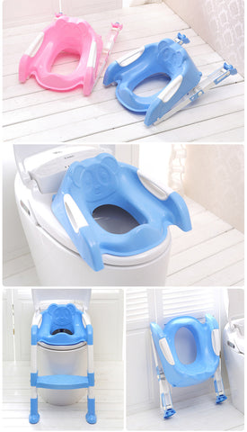 Potty Training Seat for Toddlers with Safety Seat Chair Adjustable Ladder