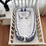 Premium Pearl Cotton Portable Baby Bassinet