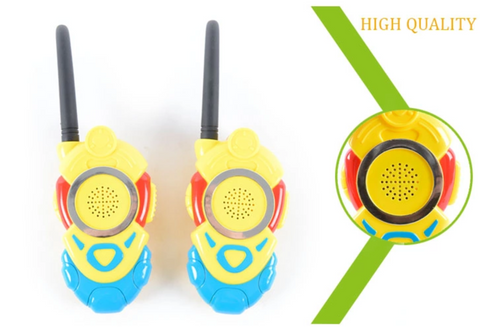 Walkie Talkie Intercom Phone Fun Toy for Infants & Toddlers