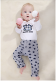 3-pack Infant  Colorful Joyful 100% Cotton Pants