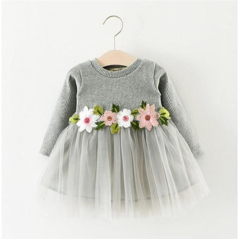 Infant & Toddler Girls Limited Edition Birthday Wedding Floral Dress