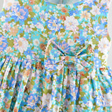 Infant & Toddler Girls Holiday Summer Floral Cool Dress