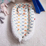 Portable Baby Bassinet With Pillow