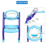 Potty Training Seat with Step Stool Folding Ladder